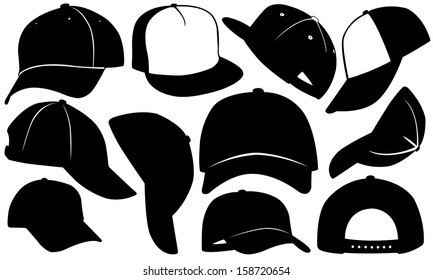 cap set isolated on white