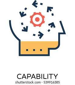 Capability Vector Icon