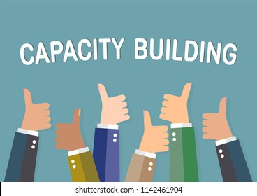 Capacity building.The concept of the company's success.