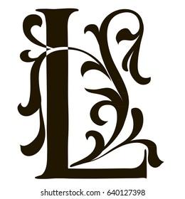 Capital Letter L Large Illuminated