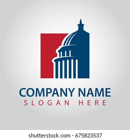Capitol America Logo Template