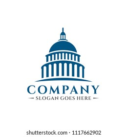 Capitol building logo
