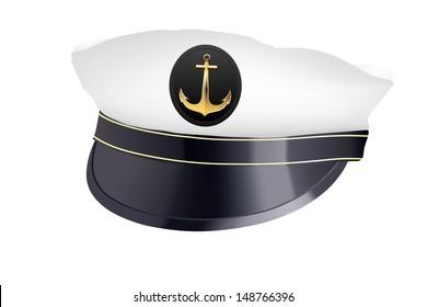 Ship Captain Hat Images, Stock Photos & Vectors | Shutterstock