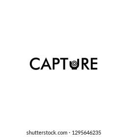 Capture. Photografer logo