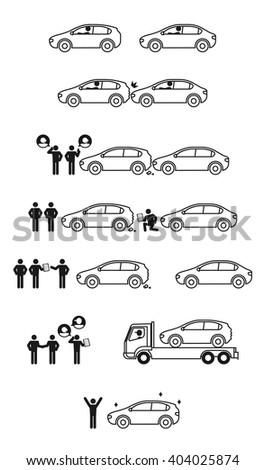 car crash story description