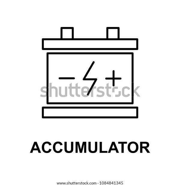 car accumulator icon. Element of car repair for mobile concept and web apps. Detailed  icon can be used for web and mobile. Premium icon on white background