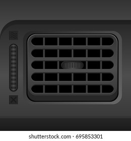 Car Air Conditioner Vent Outlet Blower Fan