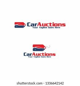 Car Auctions Logo Template