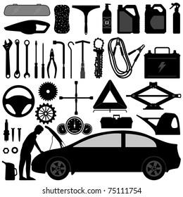 Car Auto Accessories Repair Tool Equipment Service