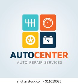 Car and Auto Repair Services Logo Template.
