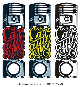 car auto service logo