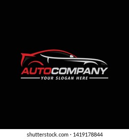 Car automotive logo vector illustration