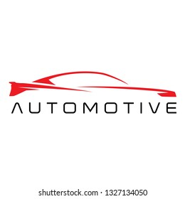 Car automotive outline sign for your project