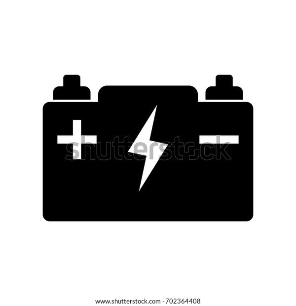 car battery vector icon stock vector royalty free 702364408 https www shutterstock com image vector car battery vector icon 702364408