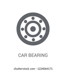 car bearing icon. Trendy car bearing logo concept on white background from car parts collection. Suitable for use on web apps, mobile apps and print media.