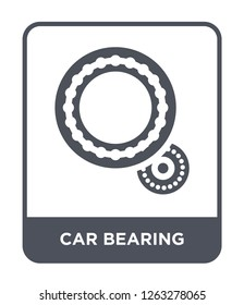 car bearing icon vector on white background, car bearing trendy filled icons from Car parts collection, car bearing simple element illustration