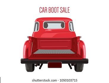 Car boot sale vintage
