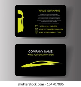 Car business card images stock photos vectors shutterstock car business cards illustration eps 10 colourmoves