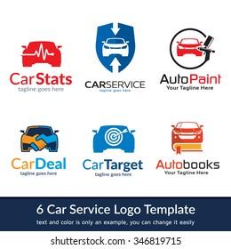 Car Business Logo Template Design Vector