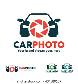 Car Camera Logo for Vehicle Photo and Video Business