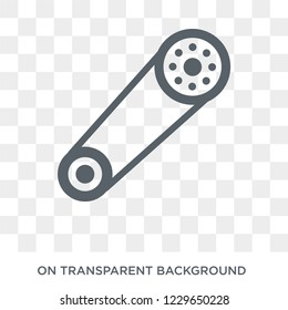 car camshaft icon. car camshaft design concept from Car parts collection. Simple element vector illustration on transparent background.