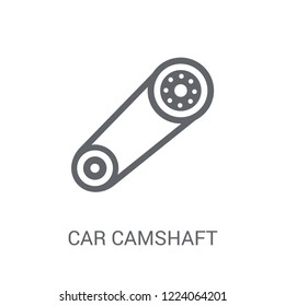 car camshaft icon. Trendy car camshaft logo concept on white background from car parts collection. Suitable for use on web apps, mobile apps and print media.