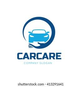 Car Care Logo Template.