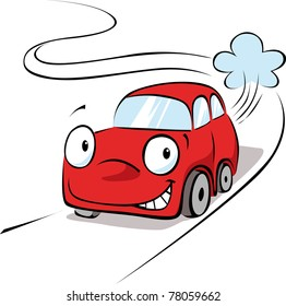 car cartoon