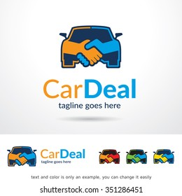 Car Deal Logo Template Design Vector