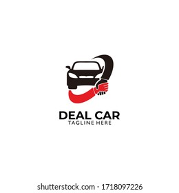 car dealer logo. icon vector isolated