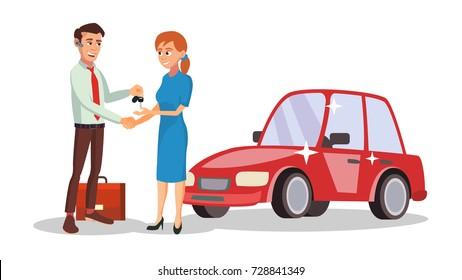 Car Salesman Images, Stock Photos & Vectors | Shutterstock