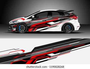 Vector Stripe Car Wrap Images, Stock Photos & Vectors