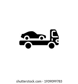 car delivery icon in vector. Logotype