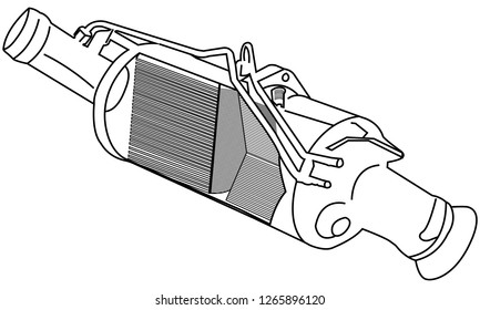 Car Diesel Particulate Filter