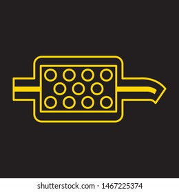 Car Diesel Particulate Filter icon