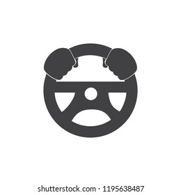 car driver simple icon