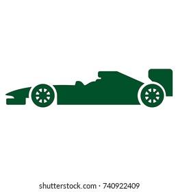 car of formula 1 icon