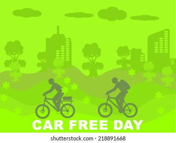 car free day ecology