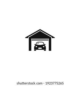 Car garage icon graphic design vector illustration