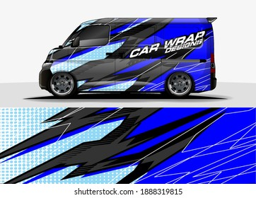 car graphic background vector. abstract lines vector concept  for vehicles graphics vinyl wrap