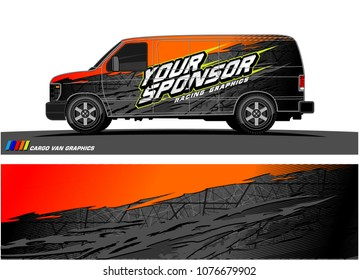 Car graphic vector. abstract racing shape with modern camouflage design for vehicle vinyl wrap