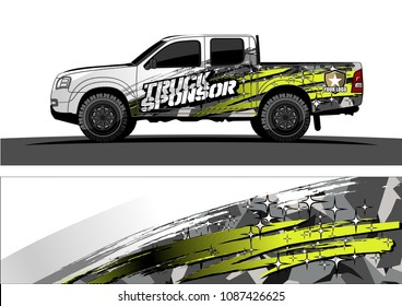 car graphic vector. abstract racing design with modern camouflage for vehicle vinyl wrap