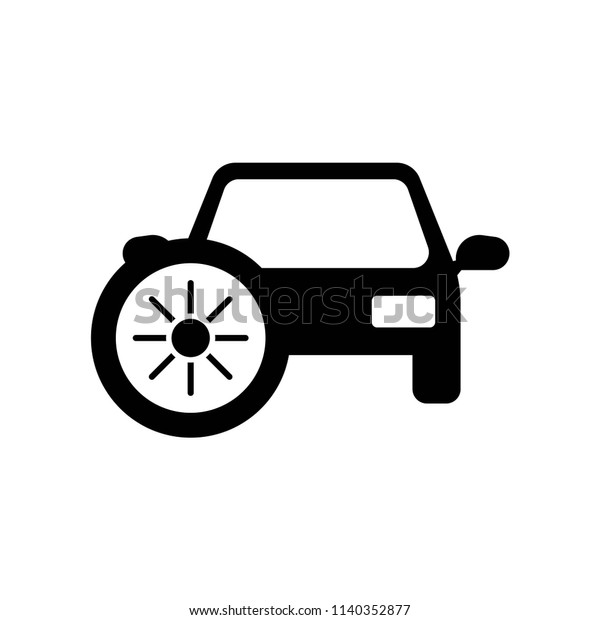 Car Heating Icon Vector Icon Simple Stock Vector Royalty Free 1140352877