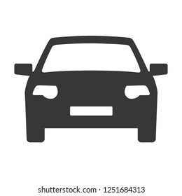Car icon. Auto icon vector on white background. Vector illustration.