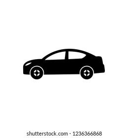 Car icon. Editable vector stroke 64x64 Pixel.