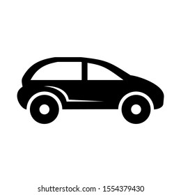 car icon isolated sign symbol vector illustration - high quality black style vector icons