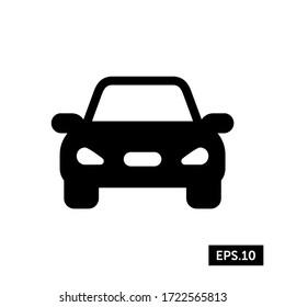 Car Icon, Car Sign/Symbol Vector