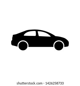 Car icon in simple style. Vector illustration EPS 10