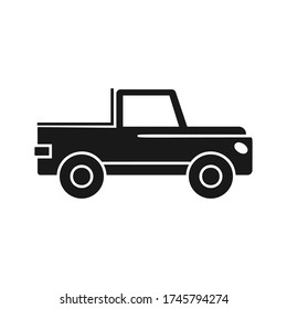 Car icon. Simple vector transport icons for ui and ux, website or mobile application