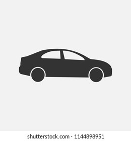 Car icon, Vector.
